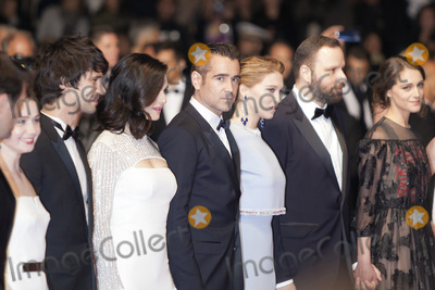 Ben Whishaw, Lea Seydoux, Rachel Weisz, Yorgos Lanthimos, Ariane Labed Photo - CANNES 15 MAY: Actor Ben Whishaw, Actress Rachel Weisz, Actor Collin Farrel, Actress Lea Seydoux, Director Yorgos Lanthimos and Actress Ariane Labed attend 'The Lobster' Premiere during the 68th Annual Cannes Film Festival on May 15, 2015 in Cannes, France. (Photo by Laurent Koffel/ImageCollect.com)