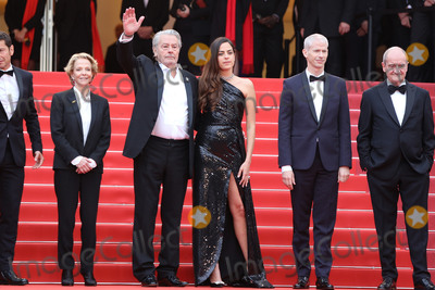 """Alain Delon, Anouchka Delon Photo - CANNES, FRANCE - MAY 19: Alain Delon and Anouchka Delon attends the screening of """"A Hidden Life (Une Vie Cache)"""" during the 72nd annual Cannes Film Festival on May 19, 2019 in Cannes, France. (Photo by Laurent Koffel/ImageCollect.com)"""