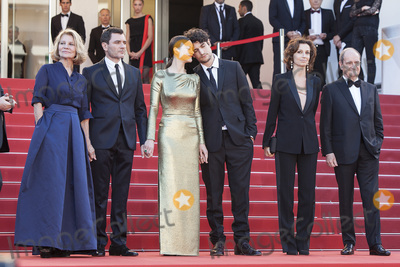 Louis Garrel, Marion Cotillard, Nicole Garcia, Alex Brendemuhl Photo - CANNES, FRANCE - MAY 15: Nicole Garcia, Alex Brendemuhl, Marion Cotillard and Louis Garrel attends the 'From The Land Of The Moon (Mal De Pierres)' premiere during the 69th annual Cannes Film Festival at the Palais des Festivals on May 15, 2016 in Cannes, France.(Photo by Laurent Koffel/ImageCollect.com)