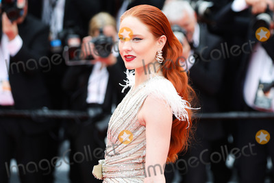 """The Dead, Barbara Meier Photo - CANNES, FRANCE - MAY 14: Model Barbara Meier attends the opening ceremony and screening of """"The Dead Don't Die"""" movie during the 72nd annual Cannes Film Festival on May 14, 2019 in Cannes, France.(Photo by Laurent Koffel/ImageCollect.com)"""