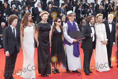 Anna Mouglalis, Annette Bening, Edgar Wright, Jasmine Trinca, The Jury, Michel Franco, Ildiko Enyedi, Anna Maria Perez de Taglé Photo - VENICE, ITALY - AUGUST 30: 'Venezia 74' jury members Michel Franco, Anna Mouglalis, president of the jury Annette Bening, Yonfan, Ildiko Enyedi, Edgar Wright, Jasmine Trinca and David Stratton walk the red carpet ahead of the 'Downsizing' screening and Opening Ceremony during the 74th Venice Film Festival at Sala Grande on August 30, 2017 in Venice, Italy.