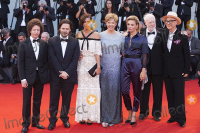Anna Mouglalis, Annette Bening, Edgar Wright, Jasmine Trinca, Michel Franco, Ildiko Enyedi, Anna Maria Perez de Taglé Photo - VENICE, ITALY - SEPTEMBER 09: 'Venezia 74' jury members Michel Franco, Edgar Wright, Anna Mouglalis, Annette Bening, Jasmine Trinca, Yonfan, David Stratton and Ildiko Enyedi, arrive at the Award Ceremony during the 74th Venice Film Festival at Sala Grande on September 9, 2017 in Venice, Italy.