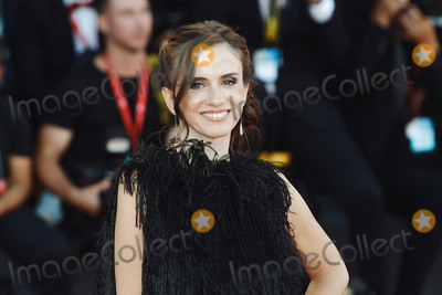 "Hüsker Dü Photo - VENICE, ITALY - SEPTEMBER 4: Chiara Iezzi walks the red carpet ahead of the ""Lan Xin Da Ju Yuan"" (Saturday Fiction) screening during the 76th Venice Film Festival at Sala Grande on September 04, 2019 in Venice, Italy.