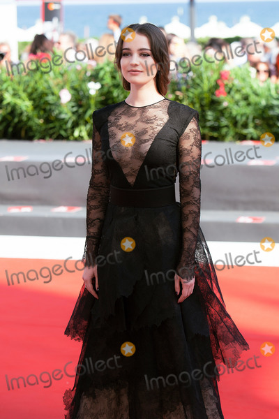 Aisling Franciosi Photo - VENICE, ITALY - SEPTEMBER 06: Aisling Franciosi walks the red carpet ahead of the 'The Nightingale' screening during the 75th Venice Film Festival at Sala Grande on September 6, 2018 in Venice, Italy.(Photo by Laurent Koffel/ImageCollect.com)