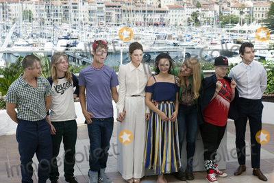 Andrea Arnold, Riley Keough, Sasha, Shia La Beouf, Sasha Lane Photo - CANNES, FRANCE - MAY 15: Actors Mccaul Lombardi, Isaiah Stone, Raymond Coalson, Riley Keough, Sasha Lane, director Andrea Arnold, actors Veronica Ezell and Shia LaBeouf attend the 'American Honey' photocall during the 69th annual Cannes Film Festival at the Palais des Festivals on May 15, 2016 in Cannes, France.(Photo by Laurent Koffel/ImageCollect.com)
