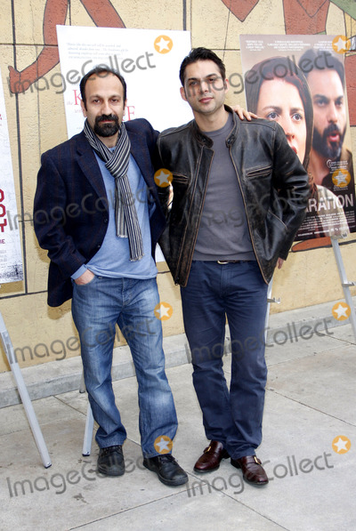 Foreigner, Peyman Moaadi, Asghar Farhadi Photo - Asghar Farhadi and Peyman Moaadi at the American Cinematheque's 69th Annual Golden Globe Awards Foreign-Language Nominee Event held at the Egyptian Theater on January 15, 2012.