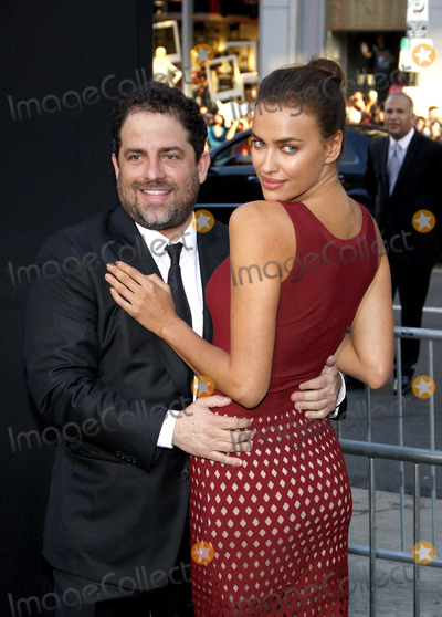 """Brett Ratner, Irina Shayk, TCL Chinese Theatre Photo - Brett Ratner and Irina Shayk at the Los Angeles premiere of """"Hercules"""" held at the TCL Chinese Theatre in Los Angeles on July 23, 2014 in Los Angeles, California. Credit: PopularImages"""