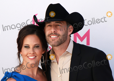 Aaron Watson Photo - LAS VEGAS-APRIL 2:  Recording artist Aaron Watson (R) and wife Kimberly attend the 52nd Academy Of Country Music Awards at Toshiba Plaza on April 2, 2017 in Las Vegas, Nevada.  (Photo by AKPhoto/ImageCollect.com)