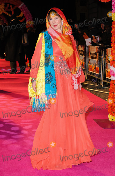 Celia Imrie Photo - Celia Imrie at the World premiere of 'The Best Exotic Marigold Hotel' held at the Curzon Mayfair on Fenruary 7 2012 in London