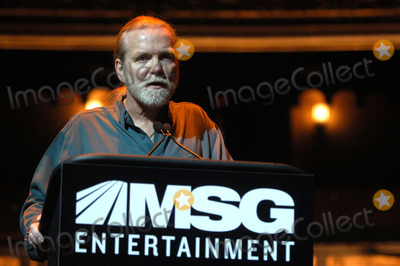 Gregg Allman, The Allman Brothers Band, Allman Brothers, Allman Brothers Band Photo - Gregg Allman of the Allman Brothers Band attends a Press Conference to Announce the Beacon Theater joins MSG Entertainment.