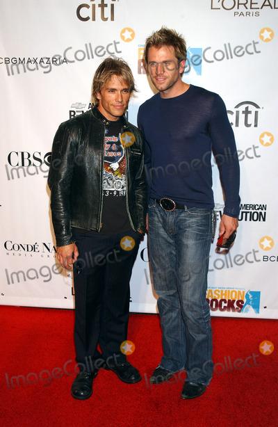 Scott Reeves, AARON BENWARD Photo - NEW YORK, SEPTEMBER 8, 2005    Scott Reeves and Aaron Benward at the Fashion Rocks Concert held at Radio City Music Hall.