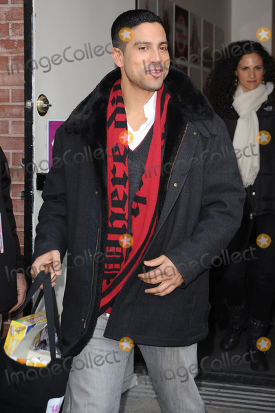Adam Rodriguez, Wendy William, Wendy Williams Photo - Actor Adam Rodriguez leaving the Wendy Williams Show on January 14 2010 in New York City