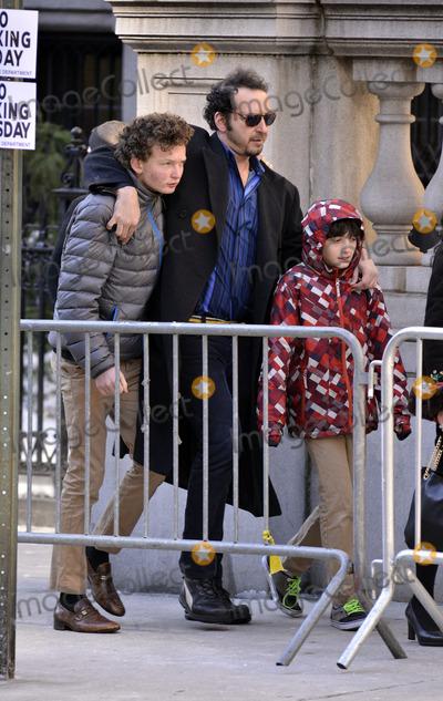 Philip Seymour Hoffman Photo - February 7 2014, New York City  David Bar Katz attending Philip Seymour Hoffman's funeral at St Ignatius Loyola Church in Manhattan on February 7, 2014 in New York City.