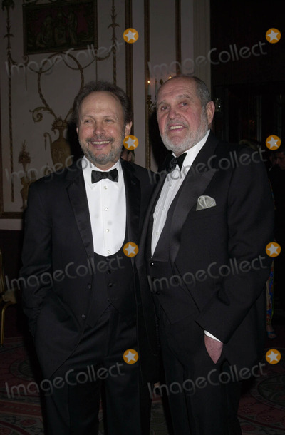 "Alan King, Billy Crystal, King Sunny Adé Photo - Billy Crystal and Alan King at the 58th anniversary ""Ball of the Year."" New York. April 4, 2003."