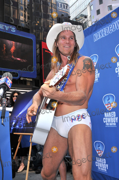 People: Robert Burck, The Naked Cowboy