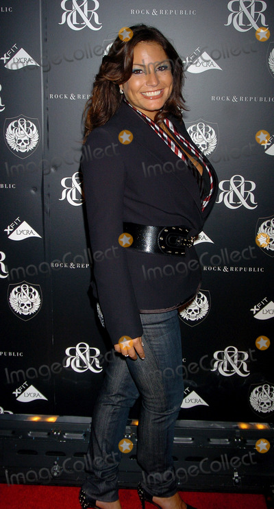Andrea Bernholtz, THE ROCK Photo - Andrea Bernholtz at the Rock & Republic Spring 2007 - Arrivals
