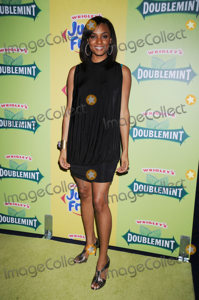 Alesha Renee Photo - Alesha Renee from BET arriving at a private concert to debut remakes of the iconic Wrigley's Gum jingles at the Nokia Theatre in Times Square on July 29, 2008 in New York City.