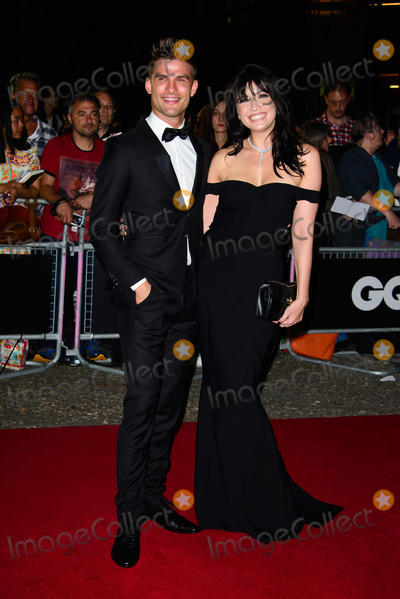 Daisy Lowe, Aljaz Skorjanec, Daisy Lowe_ Photo -   September 6 2016, New York City  Aljaz Skorjanec and Daisy Lowe arriving at the GQ Men Of The Year Awards 2016 at the Tate Modern on September 6, 2016 in London, England.   By Line: Famous/ACE Pictures   ACE Pictures Inc Tel: 6467670430
