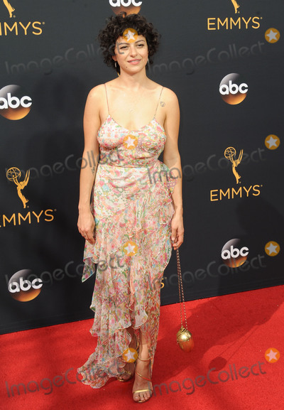 Alia Shawkat, Alias Photo -   September 18 2016, LA  Alia Shawkat arriving at the 68th Annual Primetime Emmy Awards at the Microsoft Theater on September 18, 2016 in Los Angeles, California.  By Line: Peter West/ACE Pictures   ACE Pictures Inc Tel: 6467670430