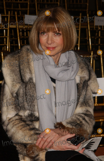 Anna Wintour, Front Row Photo - Anna Wintour in the front row at the Rag and Bone Fall 2007 collection at Mercedes-Benz Fashion Week.