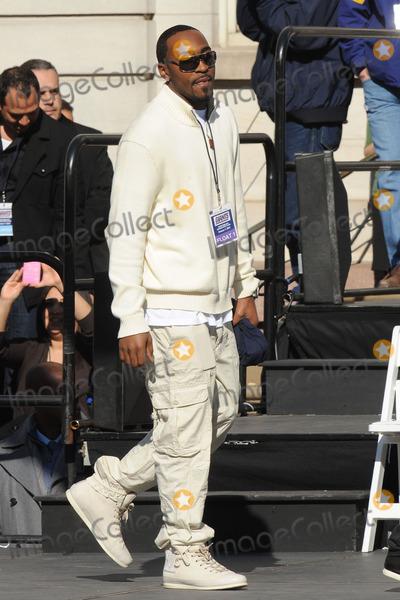 Hakeem Nicks Photo - February 7, 2012. New York City.  Hakeem Nicks attends the Giants' Victory Parade for Super Bowl XLVI on February 7, 2012 in New York City.