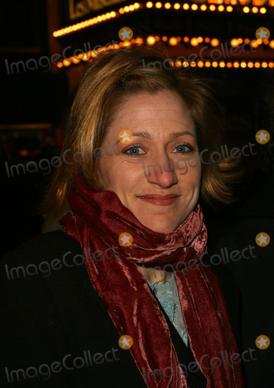 """Edie Falco, August Wilson Photo - Edie Falco attending the opening night for the Broadway Revival of August Wilson's """"Ma Rainey's Black Bottom."""" New York, February 6, 2003."""
