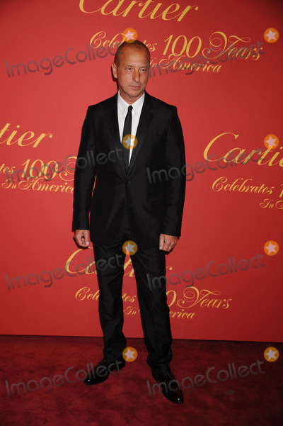 Helmut Lang Photo - Designer Helmut Lang arriving at the Cartier 100th Anniversary in America Celebration at Cartier Fifth Avenue Mansion on April 30, 2009 in New York City.