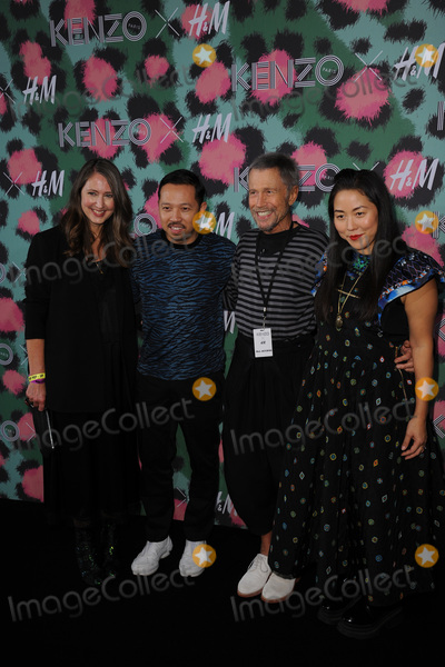 Ann Sofie, Kenzo, Leon, Jean-Paul Goude Photo - October 19, 2016  New York CityHumberto Leon, Carol Lim, Ann-Sofie Johansson, Jean-Paul Goude attending KENZO x H&M Launch Event Directed By Jean-Paul Goude at Pier 36 on October 19, 2016 in New York City.Credit: Kristin Callahan/ACE PicturesTel: 646 769 0430