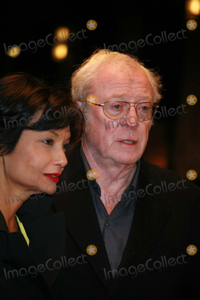 Shakira, Shakira Caine, Michael Cain, Michael Caine, Michael Bublé, Michael Paré Photo - Michael Caine and wife Shakira arriving at the UK film premiere of 'Sleuth', at the Odeon West End cinema