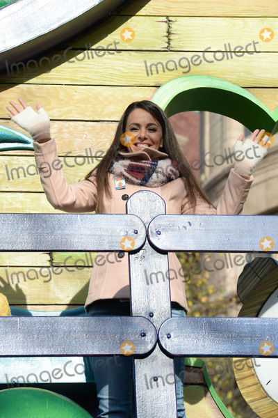 Photo - November 26, 2015 New York CityNina from The Good Night Show attending the 89th Annual Macy's Thanksgiving Day Parade on November 26, 2015 in New York City.Credit: Kristin Callahan/ACE PicturesTel: (646) 769 0430