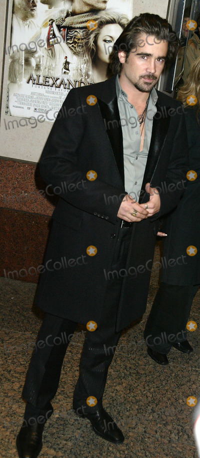 Colin Farrell Photo - NEW YORK, NOVEMBER 22, 2004    Colin Farrell at the Alexander preview screening in NYC.