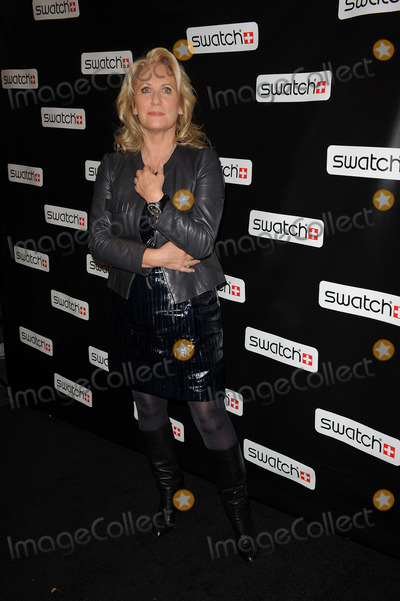 Arlette-Elsa Emch Photo - Swatch global brand president Arlette-Elsa Emch at the Swatch re-launch at the Swatch Store in Times Square on November 12, 2009 in New York City.