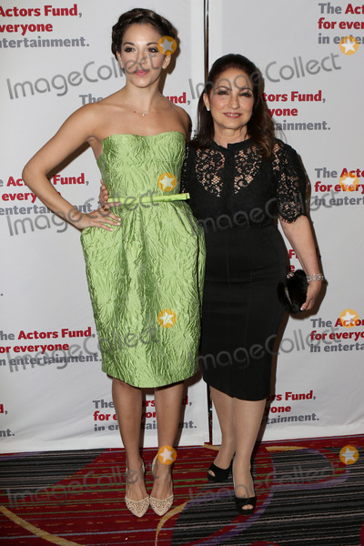 Gloria Estefan, Ana Villafane, The Actor, Ana Ivanoviæ Photo -   April 25 2016, New York City  Gloria Estefan (R) and Ana Villafane arriving at The Actors Fund Gala at the Marriott Marquis Times Square on April 25, 2016 in New York City.  By Line: Nancy Rivera/ACE Pictures   ACE Pictures, Inc. tel: 646 769 0430