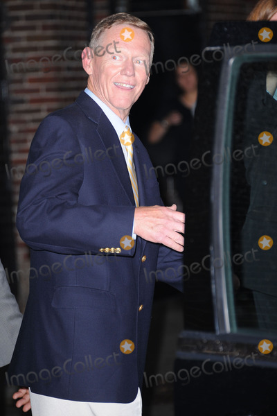 Alan Mulally, David Letterman Photo - Alan Mulally tapes the Late Show with David Letterman on August 3, 2011 in New York City