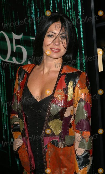 "Catherine Malendrino Photo - Pictured: Catherine Malendrino .  New York Premiere of ""Matrix Reloaded"" at Ziegfeld Theater in New York, May 13, 2003."