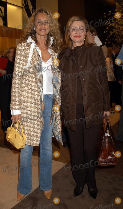 Ann Jones, Anne Jones, Ermenegildo Zegna Photo - Anne Jones and Angela Rich at the Ermenegildo Zegna Flagship Store Opening. New York, April 13, 2004.
