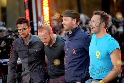 Jonny Buckland, Chris Martin, Coldplay Photo - Coldplay performs on NBC's 'Today' at Rockefeller Center on October 21, 2011 in New York City