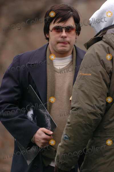 """Jared Leto, Tara Subkoff, John Lennon, Lindsay Lohan Photo - Jared Leto and Tara Subkoff were in Central Park filming """"Chapter 27"""". The movie follows the days leading up to the murder of John Lennon by Mark David Chapman (played by Leto). Lindsay Lohan will also be in the movie. Leto is clutching a John Lennon album and a copy of 'Catcher in the Rye'."""