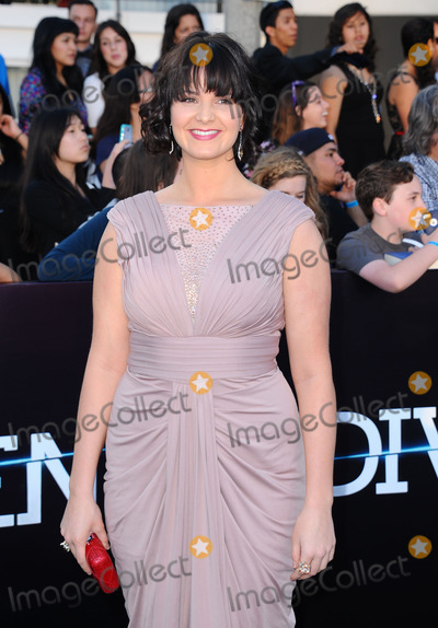 Amy Newbold Photo - March 18 2014, LA  Amy Newbold arriving at the Los Angeles premiere of 'Divergent' at the Regency Bruin Theatre on March 18, 2014 in Los Angeles, California