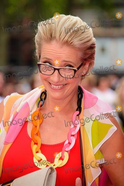Emma Thompson, Leicester Square Photo - June 11 2014, London  Emma Thompson at the 'Walking On Sunshine' UK Premiere at the Vue, Leicester Square on June 11 2014 in London