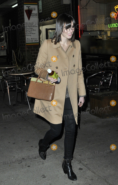 Ali Lohan Photo - November 5 2012, New York City  Ali Lohan leaves a downtown hotel on November 5 2012 in New York City