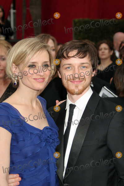 James Mcavoy, Ann Marie, Anne Marie, Anne Marie Duff, Anne-Marie Duff Photo - Actor James Mcavoy and his wife Anne-Marie Duff arriving at the 80th Annual Academy Awards held at the Kodak Theatre in Hollywood, CA.