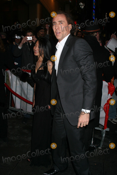 Alice Kim, Nicolas Cage, Nicolas Cazalé Photo - Nicolas Cage and wife Alice Kim attend the 'Ghost Rider' Premiere.