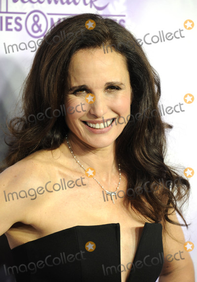 Andie Macdowell Photo -   January 8 2015, Pasadena  Andie MacDowell arriving at the Hallmark Channel and Hallmark Movies and Mysteries Winter 2016 TCA Press Tour at Tournament House on January 8, 2016 in Pasadena, California.  By Line: Peter West/ACE Pictures   ACE Pictures, Inc. tel: 646 769 0430