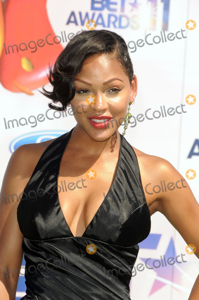 Meagan Good, Meagan Goode Photo - Actress Meagan Good arriving at the BET Awards '11 held at the Shrine Auditorium on June 26, 2011 in Los Angeles, California.