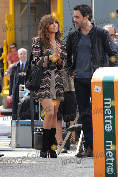 9fc1cfe3620b2 Photos and Pictures - Actors Jennifer Lopez and Alex O'Loughlin on the set  of the new movie