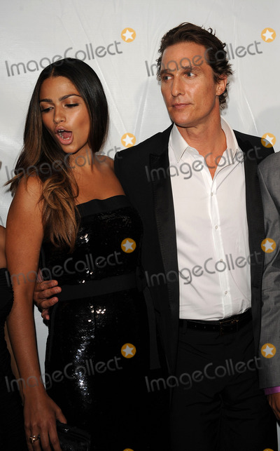 Matthew Mcconaughey, Camila Alves, Four Seasons Photo - Actor Matthew McConaughey and Camila Alves arriving at Samsung's 9th Annual Four Seasons of Hope Gala at Cipriani Wall Street on June 15, 2010 in New York City.
