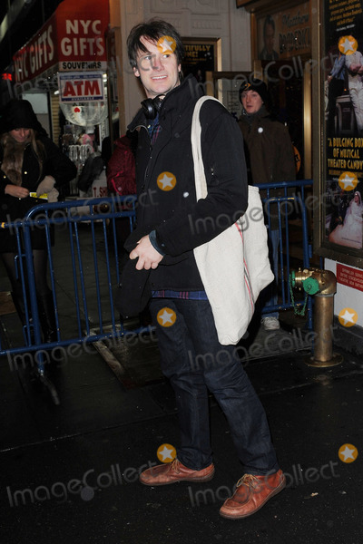 Josh Hamilton Photo - December 29, 2012. New York City. Josh Hamilton leaves The Music Box Theater after a performance of Dead Accounts on December 29, 2012 in New York City.