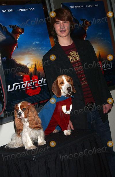 ALEX NEUBERGER Photo - Actor ALEX NEUBERGER attending the premiere of the Disney movie 'Underdog' at the Regal E-Walk Stadium