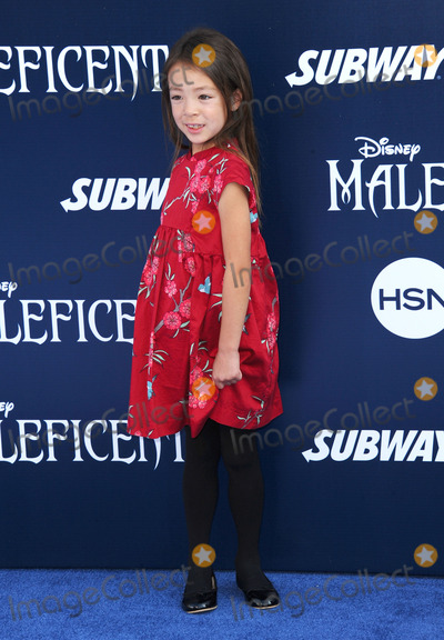 Aubrey Anderso-Emmons Photo - May 28 2014, LA  Aubrey Anderso-Emmons arriving at the World Premiere Of Disney's 'Maleficent' at the El Capitan Theatre on May 28, 2014 in Hollywood, California.